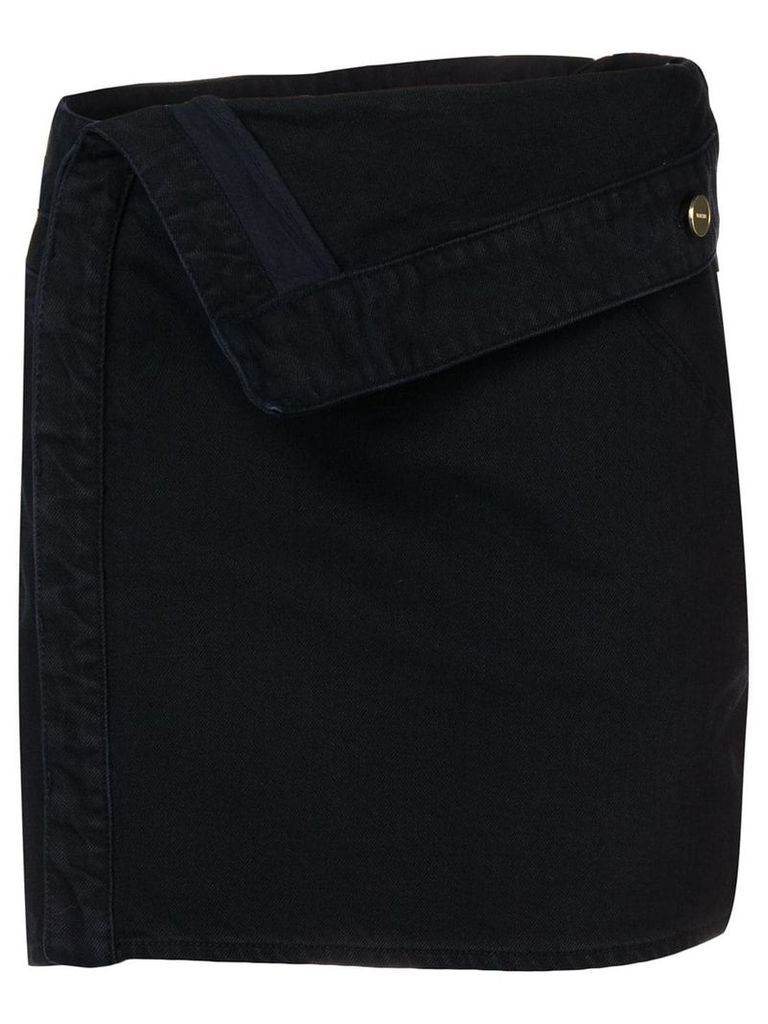 Jacquemus navy A-line skirt - Blue