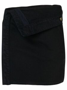 Jacquemus navy A-line skirt - Blue