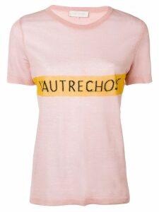 L'Autre Chose logo T-shirt - Pink
