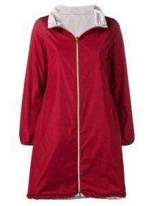 Herno Bordeau reversible rain coat - Red