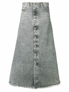 Diesel A-line skirt in denim - Grey