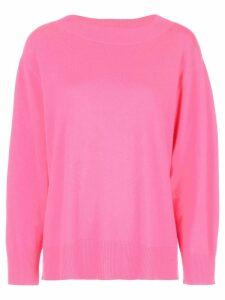 Cynthia Rowley crew neck jumper - Pink