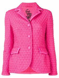 Ermanno Scervino quilted-effect blazer - Pink