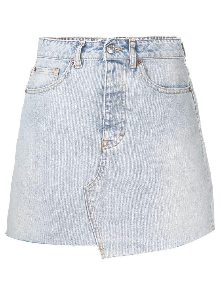 Iro slim-fit denim skirt - Blue