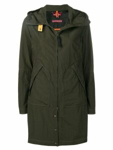 Parajumpers hooded raincoat - Green