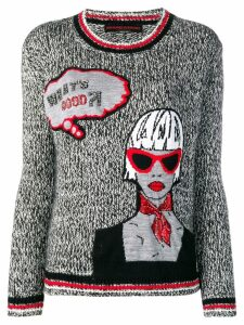 Ermanno Scervino pop art jumper - Grey
