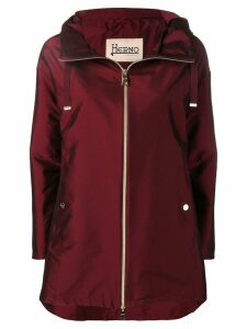 Herno Bordeau rain coat - Red
