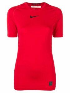 1017 ALYX 9SM Nike swoosh T-shirt - Red
