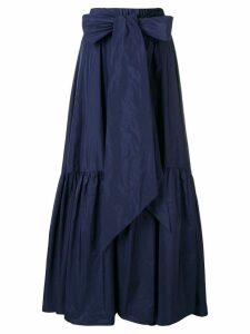 P.A.R.O.S.H. full ruffled skirt - Blue