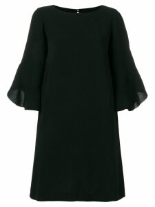 L'Autre Chose flared sleeve dress - Black