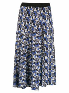 Alcaçuz Letonia midi skirt - Blue