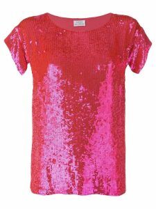 P.A.R.O.S.H. pink sequin top