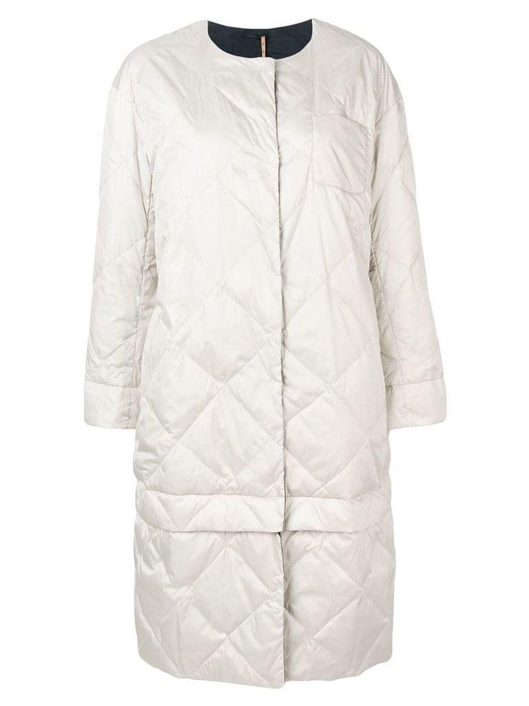'S Max Mara oversized reversible coat - Neutrals