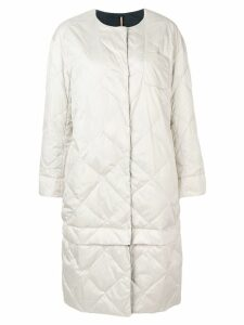 'S Max Mara oversized reversible coat - Neutrals