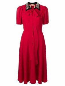Nº21 Rossa collared dress