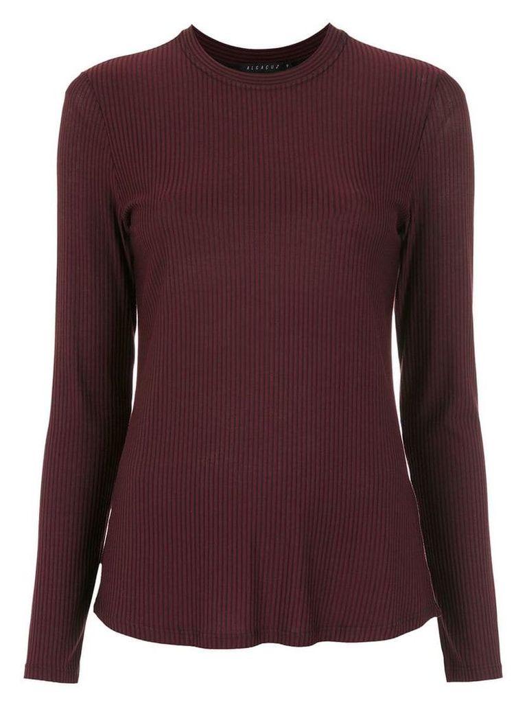 Alcaçuz Laisha knitted top - Purple