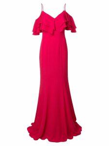 Zac Zac Posen Marla Gown - Red
