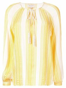 Zeus+Dione striped blouse - Yellow
