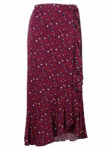 Michael Michael Kors heart print skirt - Blue