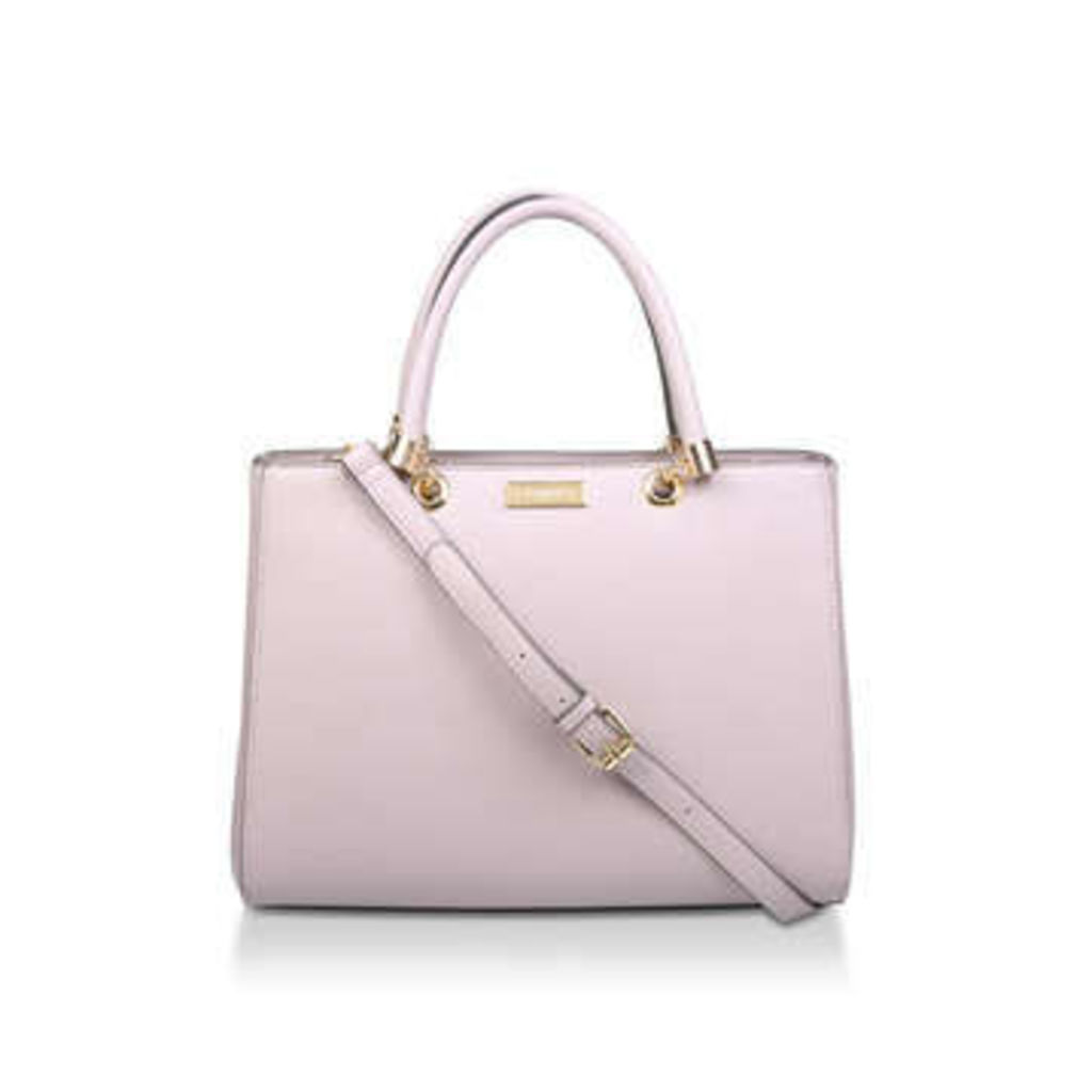 Carvela Dory Structured Tote - Lilac Tote Bag