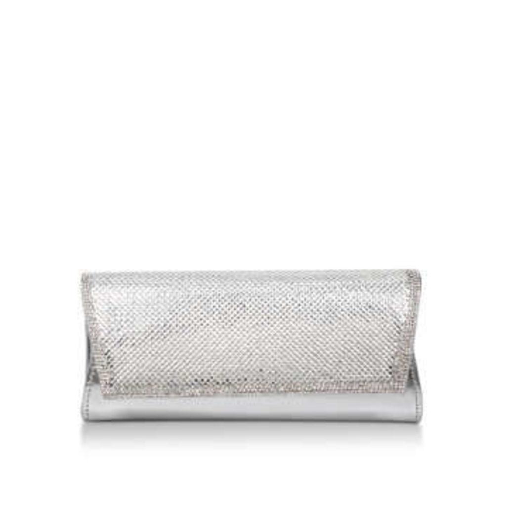 Carvela Ocean - Silver Embellished Clutch Bag