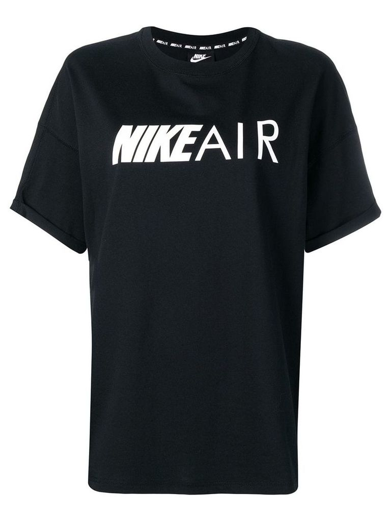 Nike black logo T-shirt