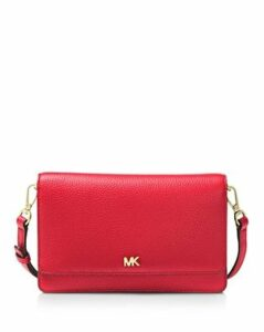 Michael Michael Kors Leather Smartphone Crossbody