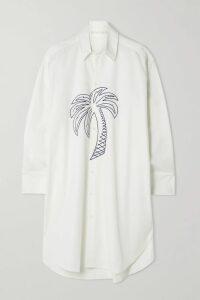 Balmain - Embellished Tulle Mini Dress - Silver