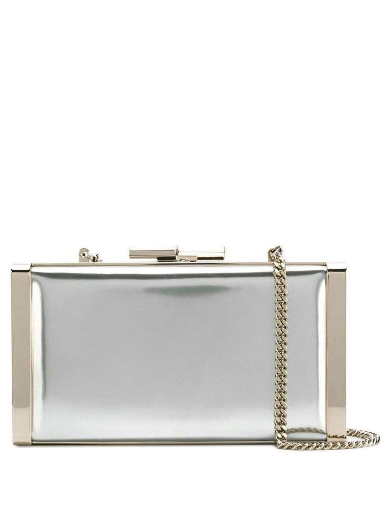 Jimmy Choo J Box clutch - Silver