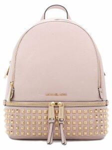 Michael Michael Kors Rhea studded backpack - Pink