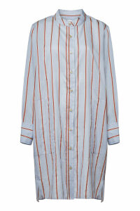 Isabel Marant toile Yucca Striped Shirt Dress with Cotton, Linen and Silk