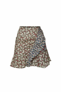 Isabel Marant toile Loz Printed Cotton Skirt