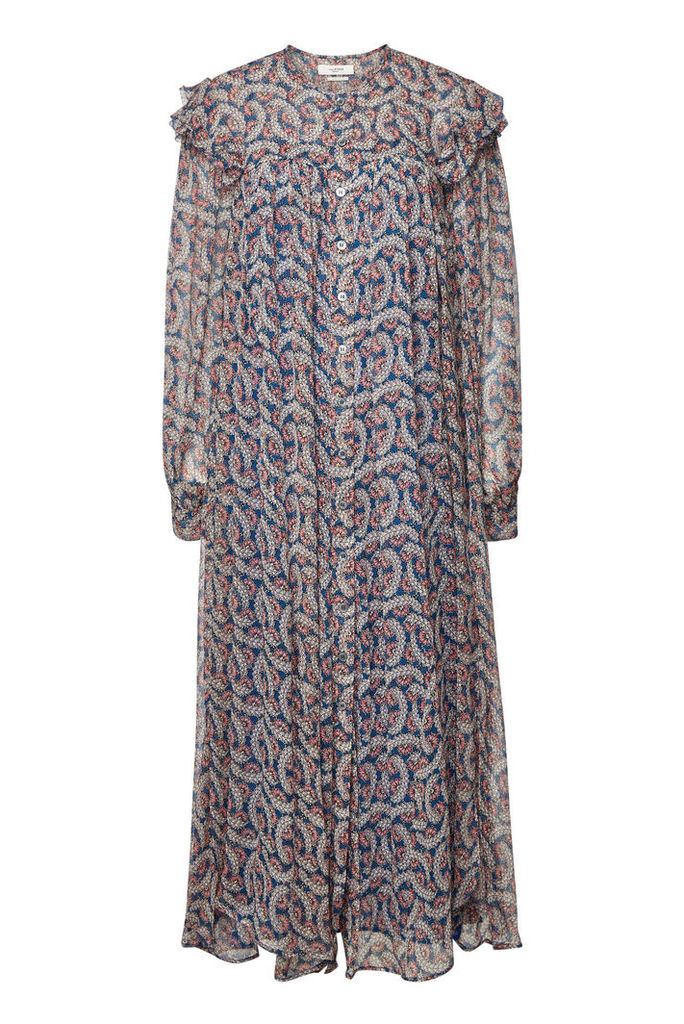 Isabel Marant toile Ellie Printed Silk Maxi Dress
