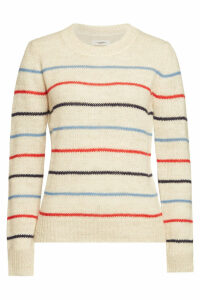 Isabel Marant toile Gian Striped Pullover with Alpaca, Wool and Linen