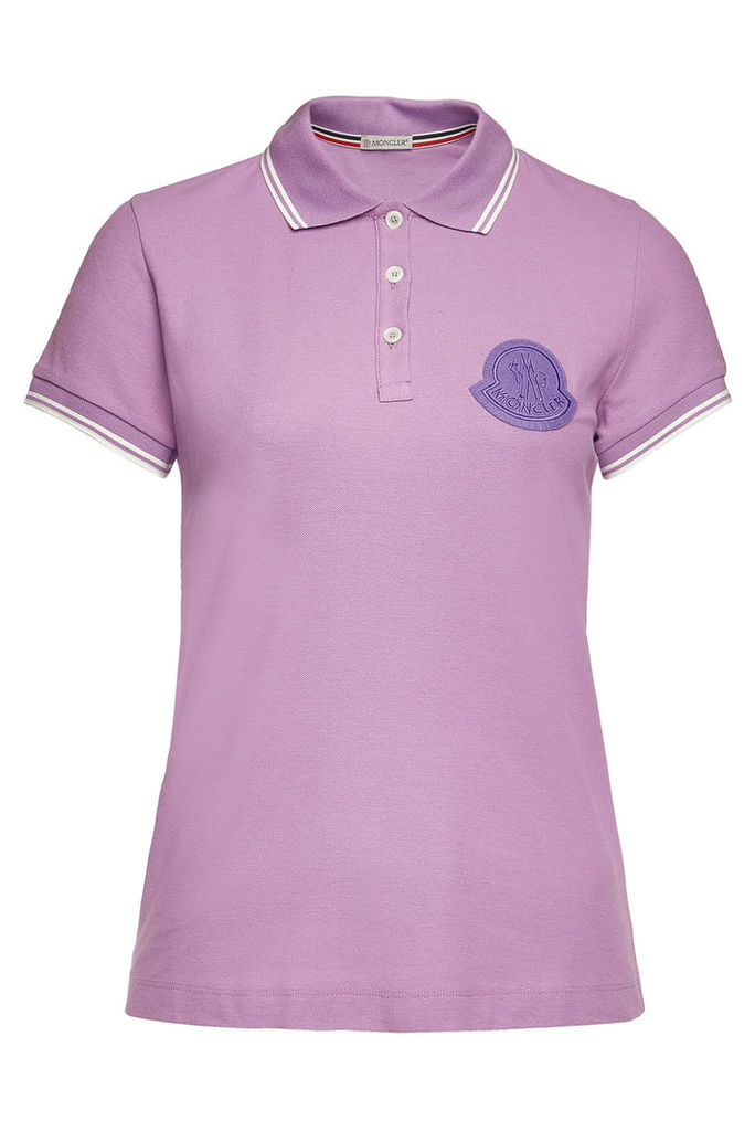 Moncler Cotton Polo T-Shirt