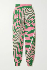 Marques' Almeida - Floral-print Asymmetric Cotton-voile Wrap Midi Skirt - Black