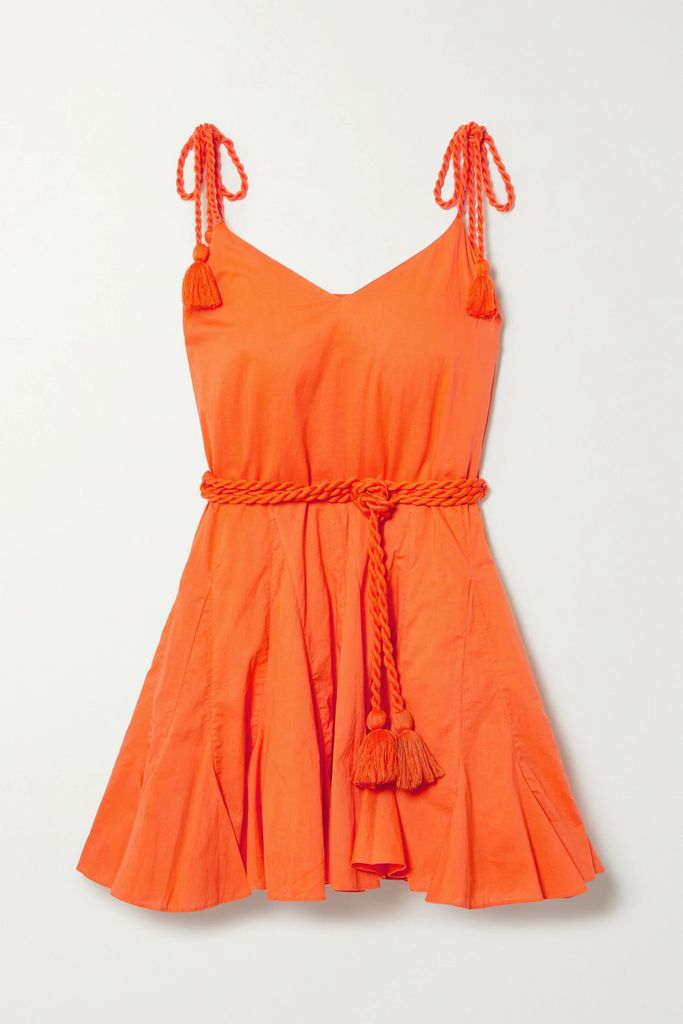 Altuzarra - Lancaster Cotton-blend Pencil Skirt - Blue