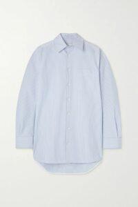 MICHAEL Michael Kors - Embroidered Cotton-voile Mini Dress - Navy