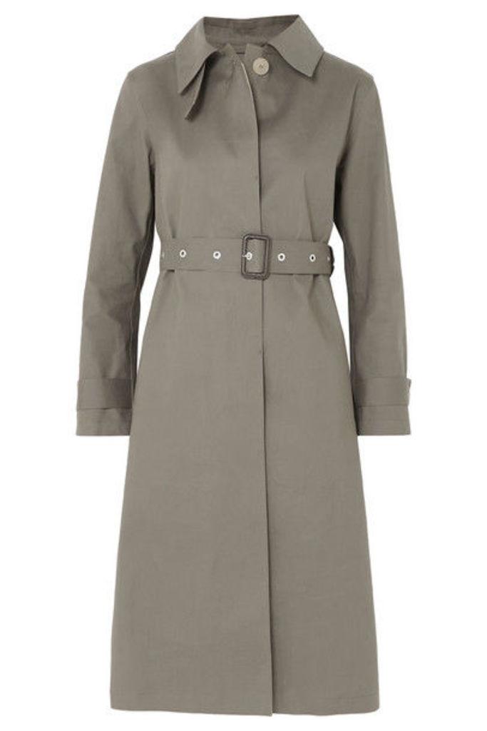 Mackintosh - Bonded Cotton Trench Coat - Taupe