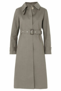 Mackintosh - Bonded Cotton Trench Coat - Taupe