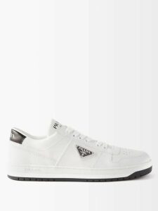 Valentino - Feather Trimmed Ribbed Knit Stretch Jersey Top - Womens - Black