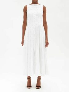 La Fetiche - Patti Striped Wool Sweater - Womens - Yellow Stripe