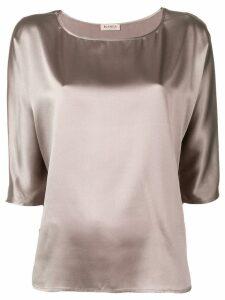 Blanca boat neck blouse - Neutrals