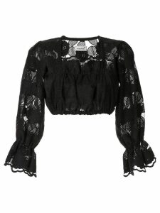 Bambah Mista cropped top - Black