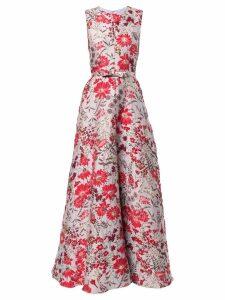 Bambah Gala Princess gown - Silver