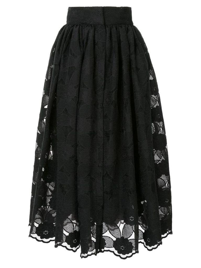Bambah Mista midi skirt - Black
