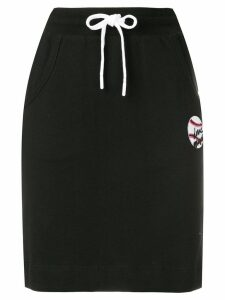 Love Moschino casual drawstring skirt - Black