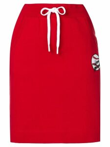 Love Moschino casual red skirt