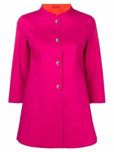 Herno mid-length coat - Pink