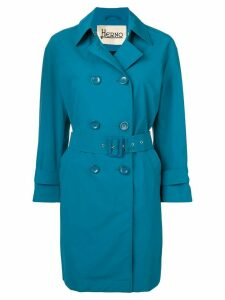 Herno mid-length trenchcoat - Blue